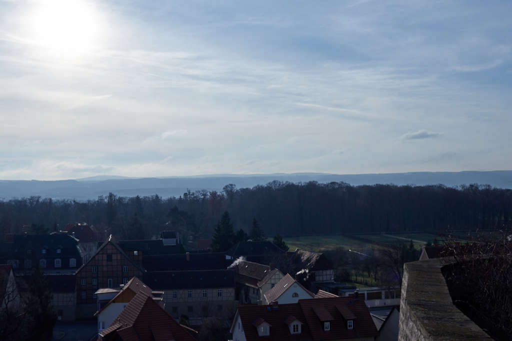Quedlinburg Ausblick