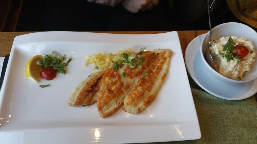 Fischereihafen Restaurant Cuxhaven Schollenfilet