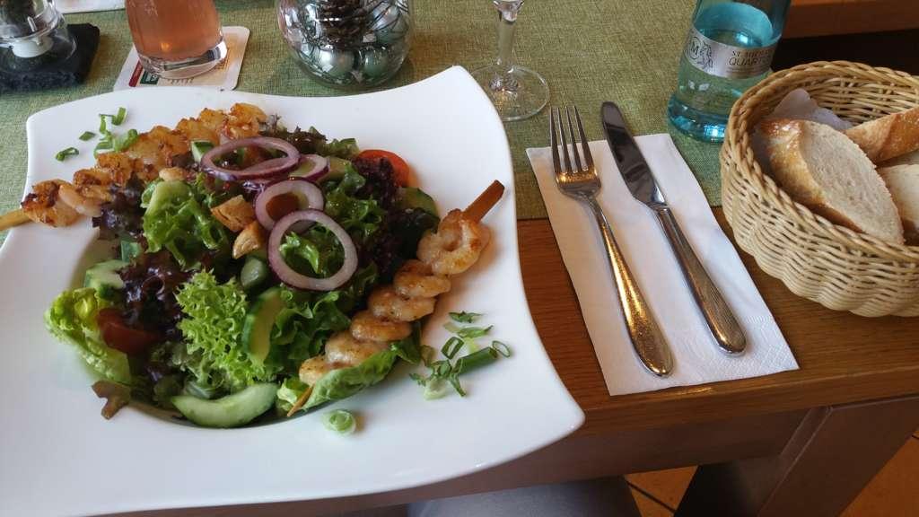 Fischereihafen Restaurant Cuxhaven Salatteller