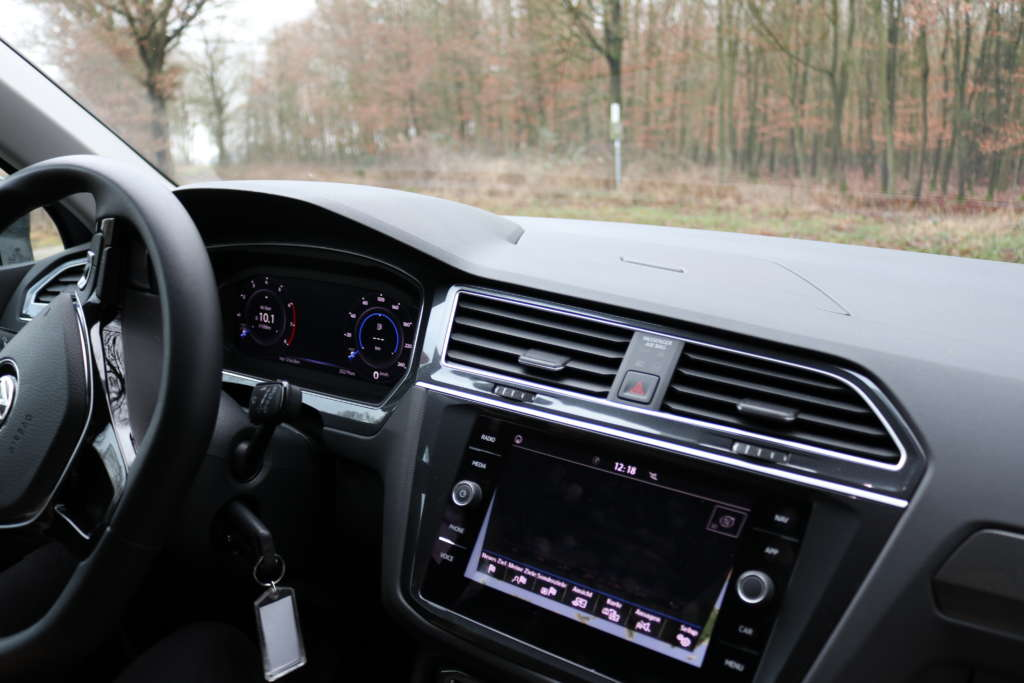VW Tiguan Cockpit