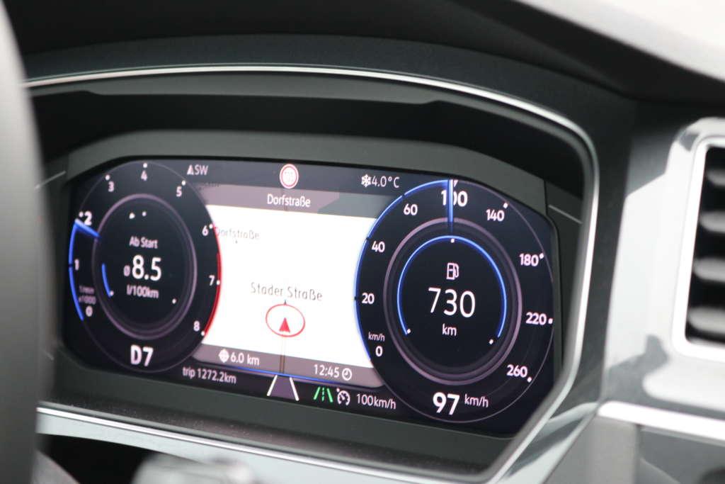 VW Tiguan Active Info Display
