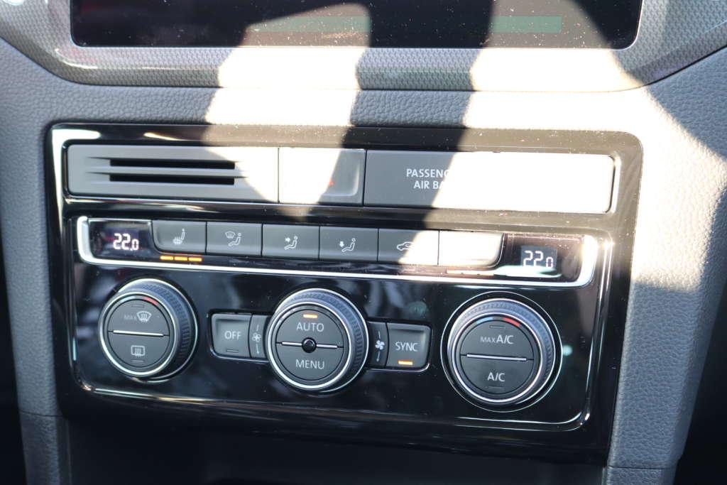 Test VW Golf 7 Sportsvan 1.5 TSI QCT 131 PS Innenraum