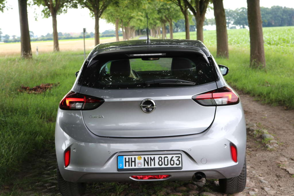 Test Opel Corsa 1.2 2020 Heck