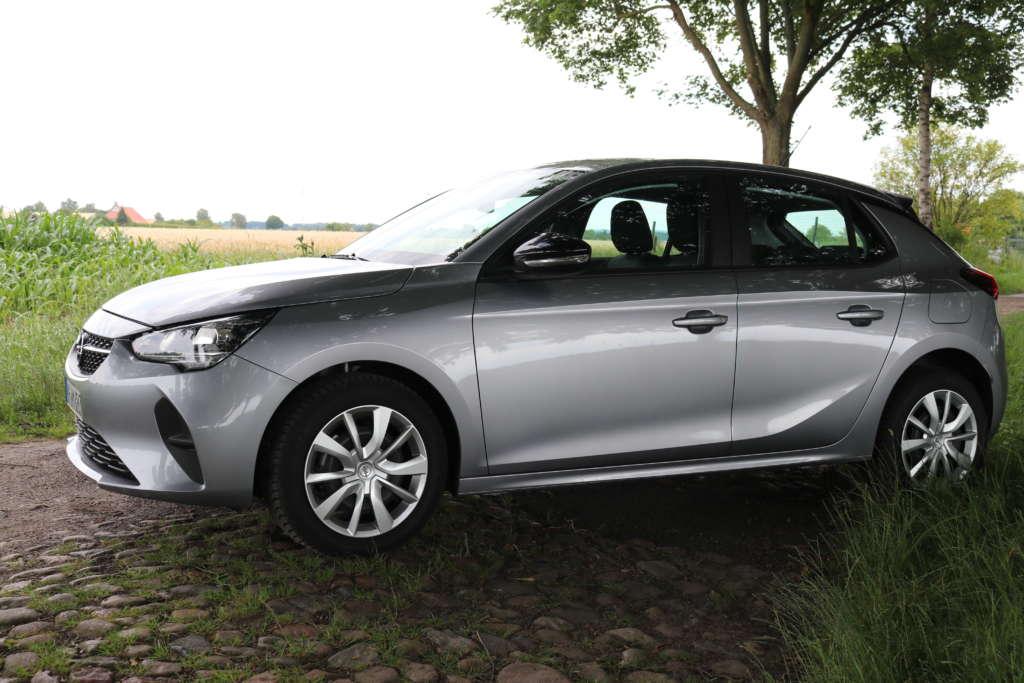 Test Opel Corsa 1.2 2020 Seitenansicht