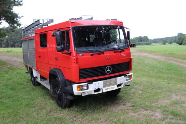 Bild Basisfahrzeug Mercedes 917 AF 1997 OM 366 LA