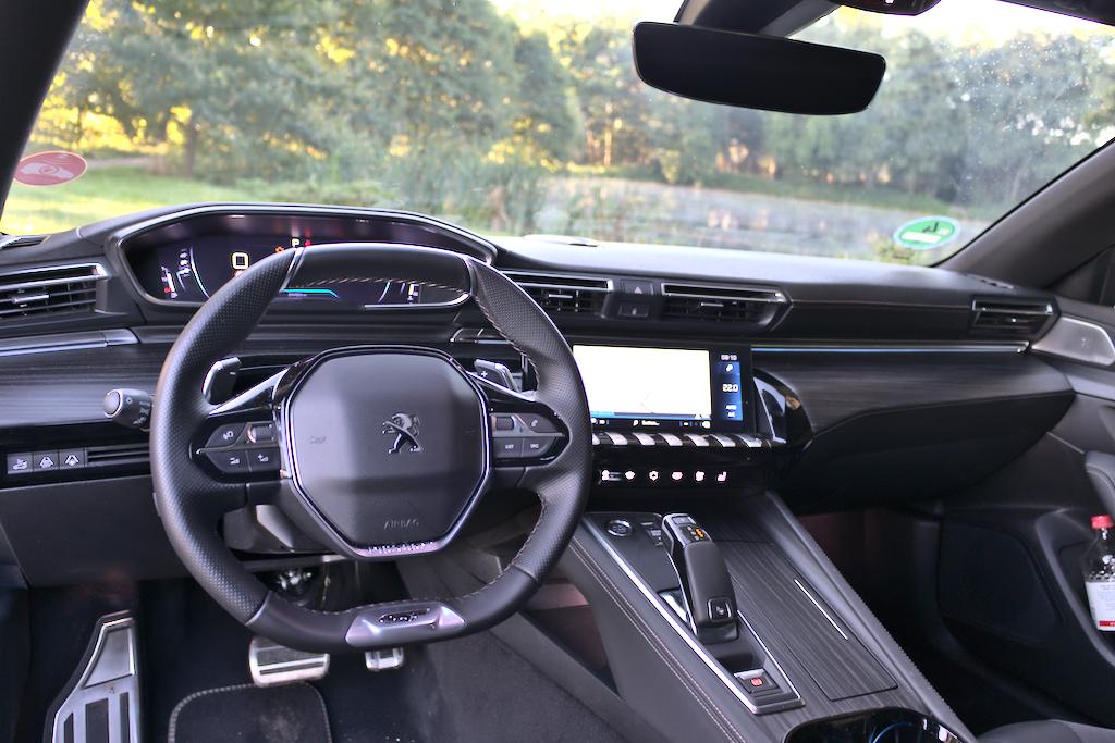 Foto Test Peugeot 508 GT 225 16 PureTech EAT8 Armaturenbrett
