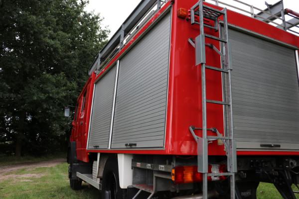 Bild Weltreisemobil Mercedes 917 AF Feuerwehraufbau Lentner