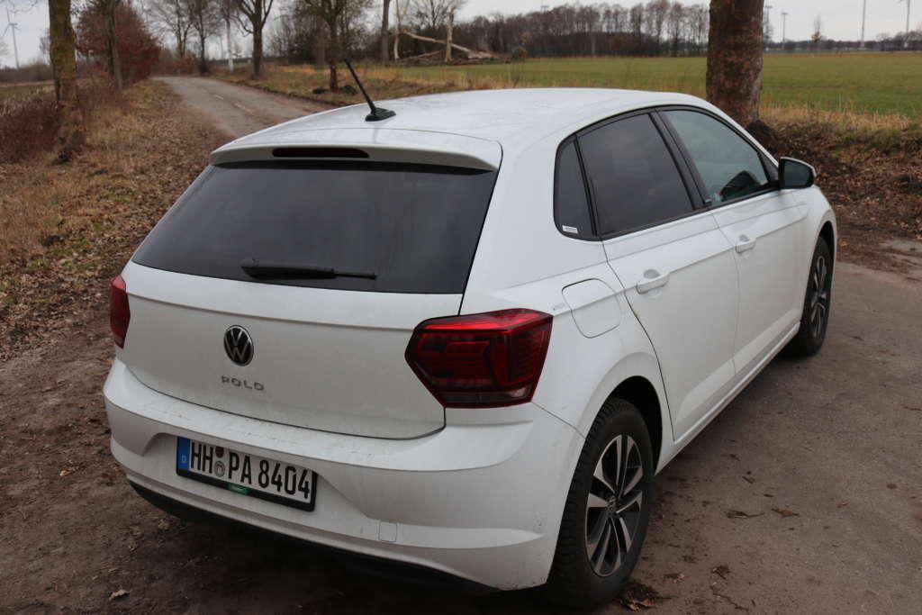 Test VW Polo 1.0 TSI OPF United Heck