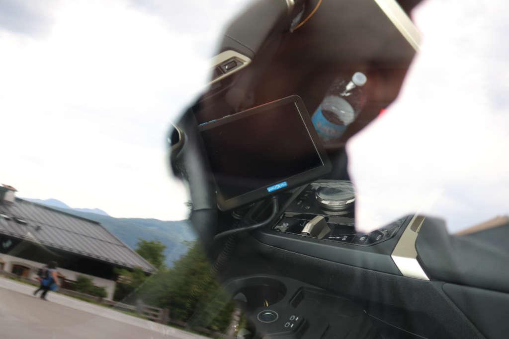 BMW iNext 2021 Spy Erlkönig IDrive